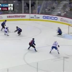 Semyon Varlamov Save on Derek Roy (00:46/1st)