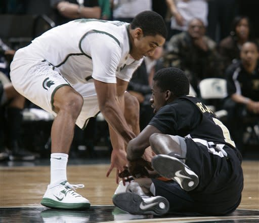 No. 19 Michigan St routs Arkansas-Pine Bluff 76-44