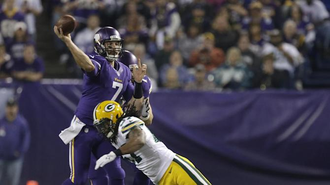 Frazier holds off naming Vikings QB until Friday