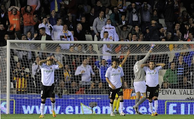 Valencia´s Players AFP/Getty Images