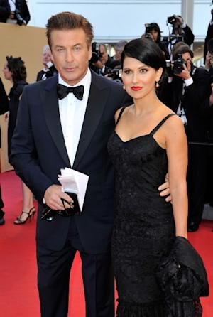 Alec Baldwin and Hilaria Thomas step out at the opening ceremony and 'Moonrise Kingdom' premiere during the 65th Annual Cannes Film Festival at Palais des Festivals in Cannes, France on May 16, 2012   -- Getty Images