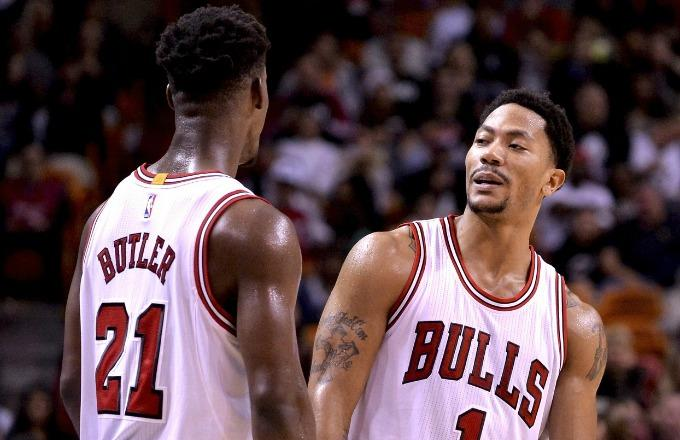 "Report: Jimmy Butler ""Doesn't Have a Lot of Respect for"" Derrick Rose's Work Ethic"