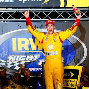 Logano adds his name to the record books at BMS