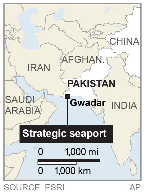 China poised to control strategic Pakistani port