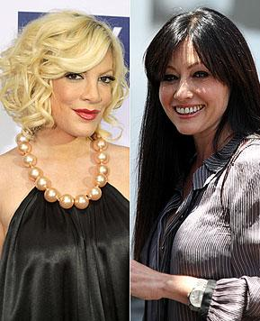 Tori Spelling Offers to Plan Shannen Doherty's Wedding