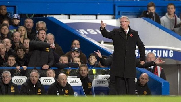 Alex Ferguson Stamford Bridge