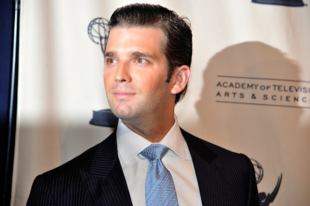 "NEW YORK, NY - APRIL 26: Executive Vice President at The Trump Organization, Donald Trump Jr. attends An Evening with ""The Celebrity Apprentice"" at Florence Gould Hall on April 26, 2011 in New York City. (Photo by Joe Corrigan/Getty Images)"