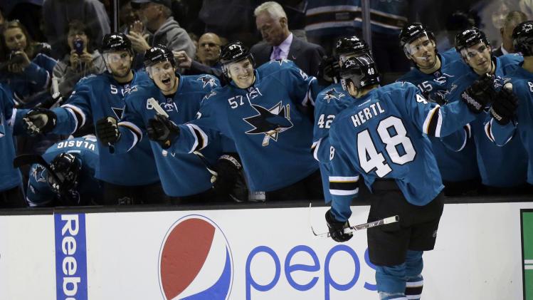 Sharks beat Senators 3-2 for 5th straight win