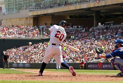 Diamond pitches another gem as Twins top Jays 4-3
