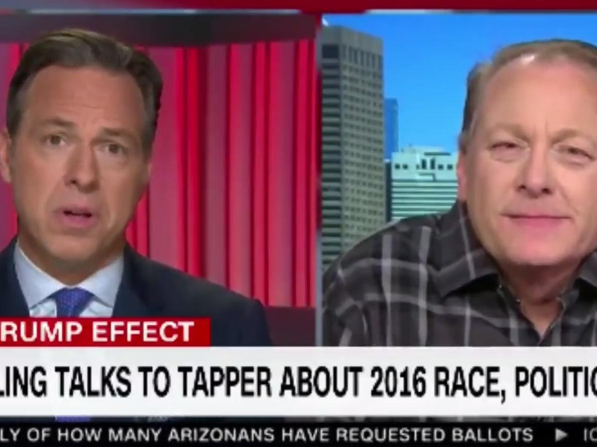 Curt Schilling surprises Jake Tapper by asking if he can explain why Jews support Democrats