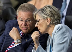 Senate Foreign Relations Chairman Sen. Robert Menendez, …