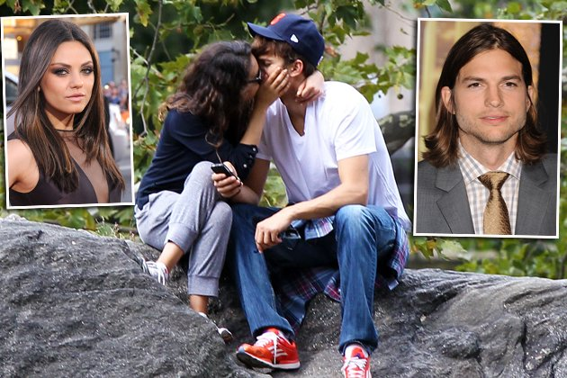 Ashton Kutcher und Mila Kunis: Sie turteln heftig im Central Park (Bilder: Getty Images, Splash)