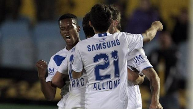 World Football - Velez win over Penarol marred by violence