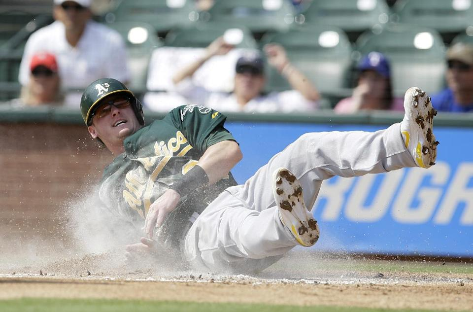 A's beat Rangers 1-0 to stretch lead to 5½ games
