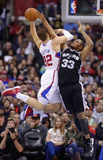 Spurs beat Clippers 116-90 for 5th straight win