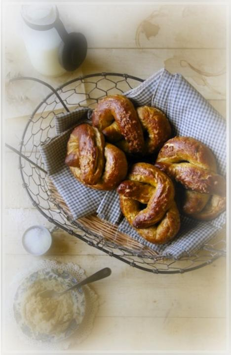 Honey Whole Wheat Pretzels