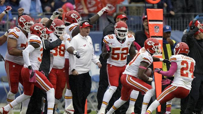 Chiefs off to 5-0 start after 2-14 last year