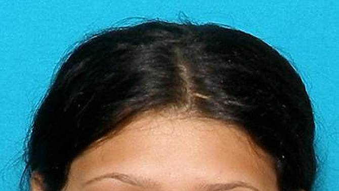 CORRECTS FIRST NAME TO ESTEFANIA - This Aug. 21, 2012 photo provided by the Dover, Del., Police Department shows Estefania Myers. Myers, one of three day care workers charged with encouraging two 3-year-old boys to fight and videotaping them hitting each other, has pleaded guilty to assault and conspiracy in Kent County Superior Court. As part of a plea agreement, she agreed to testify against her co-defendants if their trial proceeds as scheduled on Monday. (AP Photo/Dover Police Department)
