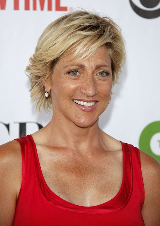 Edie Falco arrives at the NBC and Universal's 2009 TCA Press Tour All-Star Party at the Huntington Library on August 3, 2009 in Pasadena, California.