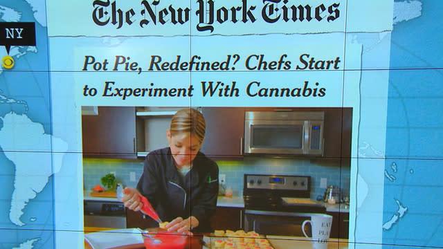 Headlines at 8:30: Colorado chefs experiment with marijuana
