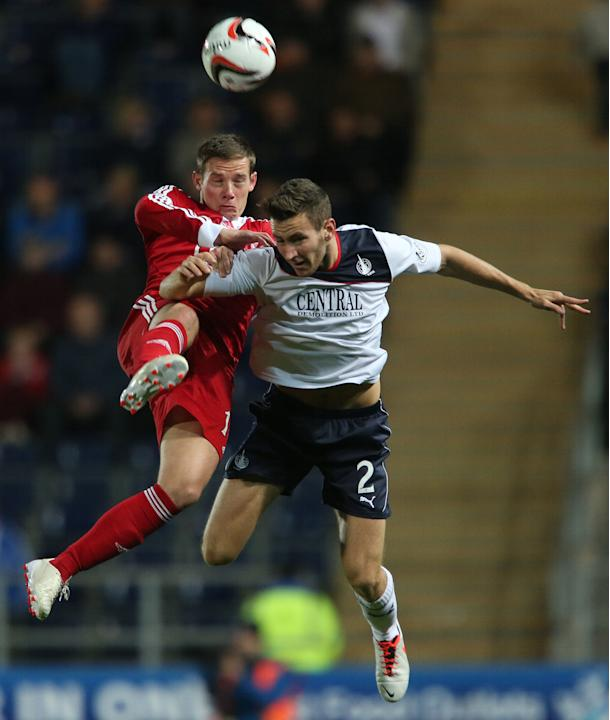 Soccer - Scottish Communities League Cup - Third Round - Falkirk v Aberdeen - Falkirk Stadium