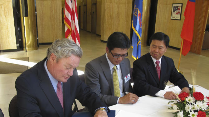 Taiwan inks $484.5M agreement for US wheat