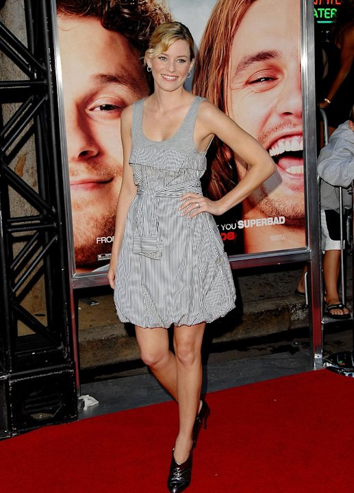 Pineapple Express LA Premiere 2008 Elizabeth Banks