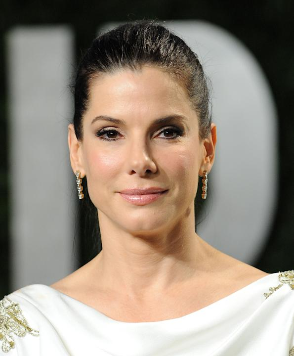 Sandra Bullock comes in fourth.