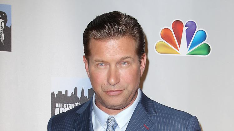 "FILE - This Oct. 12, 2012 file image released by Starpix shows contestant Stephen Baldwin posing at the cast announcement for the new ""All Star Celebrity Apprentice, in New York. Baldwin has been charged with failing to file New York state income taxes for three years. Rockland County District Attorney Thomas Zugibe says Baldwin owes more than $350,000 in taxes and penalties. He says Baldwin was arraigned Thursday, Dec. 6, on a charge of repeated failure to file tax returns.  (AP Photo/Starpix, Kristina Bumphrey, file)"