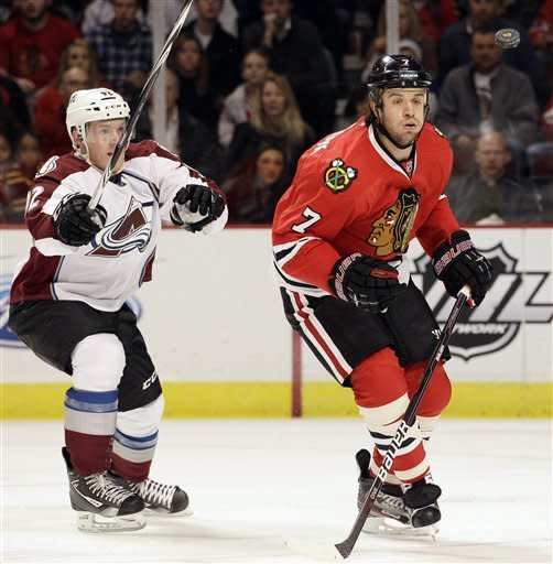 Avalanche blank Blackhawks 4-0