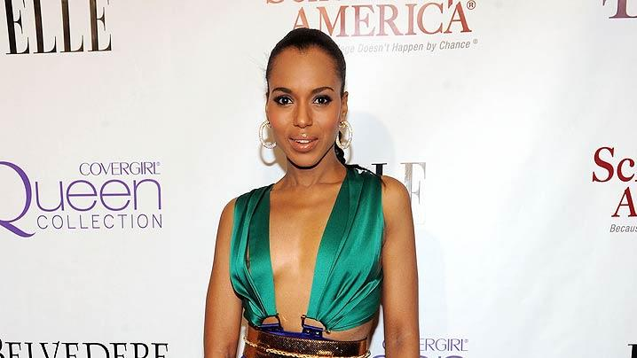 Kerry Washington MaryJ Blige Event