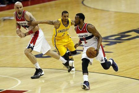 NBA: Playoffs-Indiana Pacers at Washington Wizards