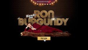 Dodge Brand and Paramount Pictures Give Fans the Opportunity to Get Their 'Hands on Ron Burgundy' Through an Imaginative Interactive Online Competition