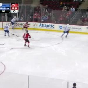 Cory Schneider Save on James van Riemsdyk (00:50/3rd)