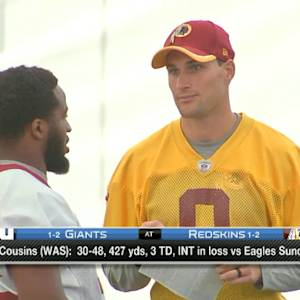 Will Washington Redskins quarterback Kirk Cousins keep his job when Robert Griffin III returns?