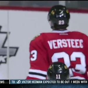 Kris Versteeg puts in his own rebound