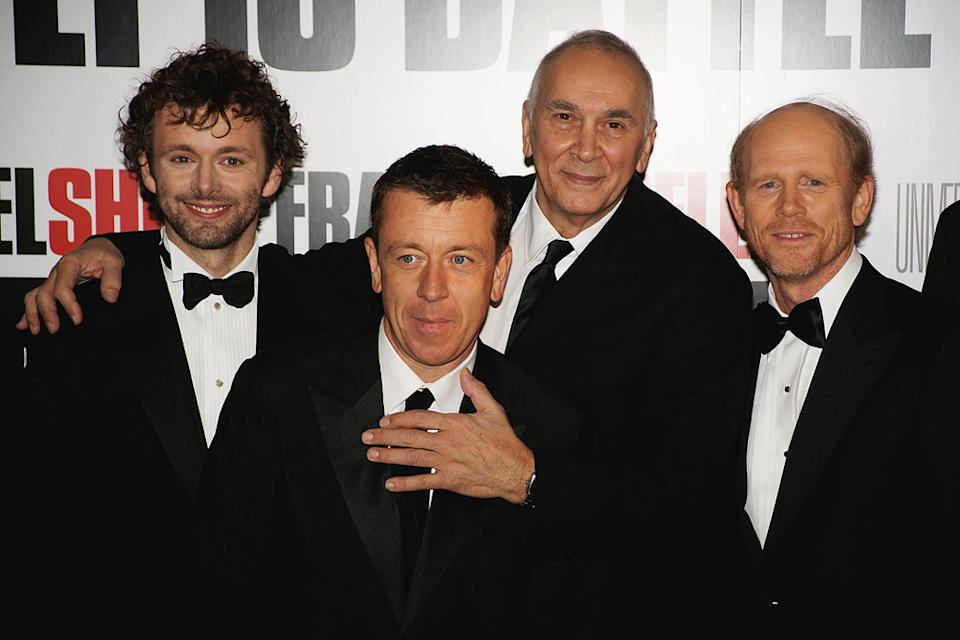 Frost_Nixon London Premiere 2008 Michael Sheen Peter Morgan Frank Langella Ron Howard