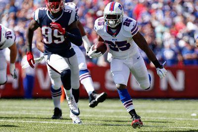LeSean McCoy, Karlos Williams both absent from practice Thursday, fantasy changes appearing likely