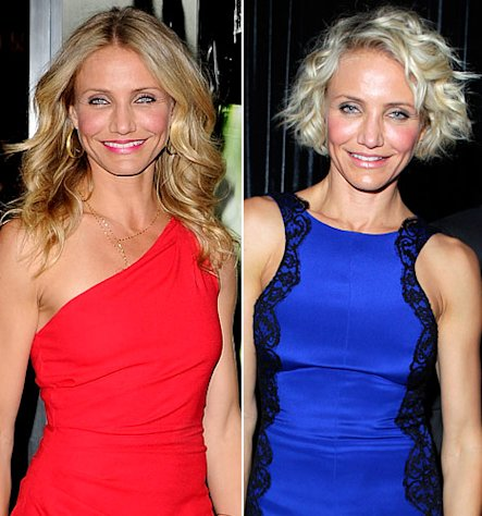 "Cameron Diaz: ""I Burst Into Tears"" After Super Short Haircut"