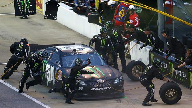 Crew, car chiefs for No. 54 Busch team penalized