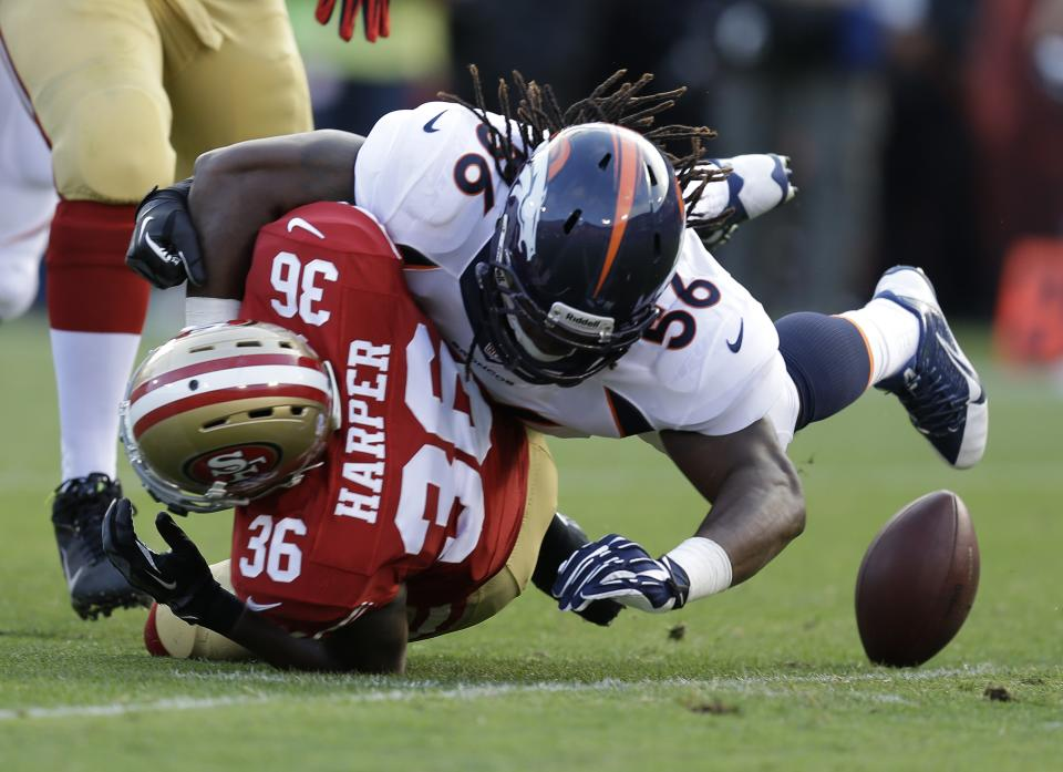 Denver defense stymies 49ers in preseason opener