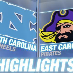 North Carolina vs East Carolina | 2014 ACC Football Highlights