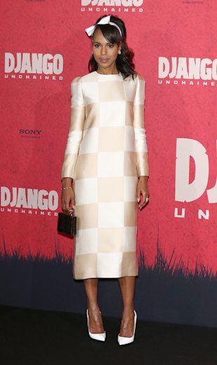 SS13 Crush: Kerry Washington wows in Louis Vuitton checks