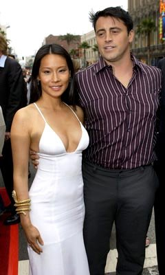 Premiere: Lucy Liu and Matt LeBlanc at the LA premiere of Columbia's Charlie's Angels: Full Throttle - 6/18/2003
