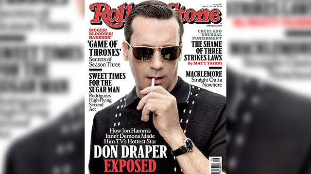 Exclusive: Jon Hamm Covers 'Rolling Stone'