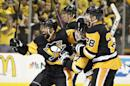 The Pittsburgh Penguins beat the Washington Capitals 3-2 to grab a 3-1 lead in their second round NHL playoff series