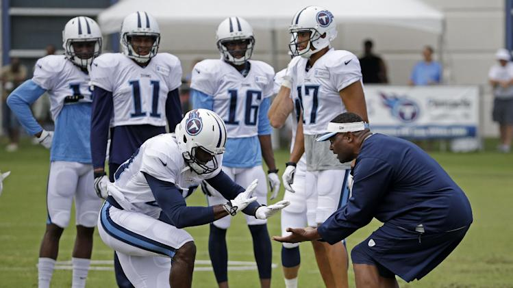 Titans focus on language with officials on hand