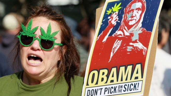 "Pot advocates to Obama: ""Don't pick on the stick!"""