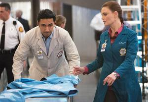 Pej Vahdat, Emily Deschanel | Photo Credits: Adam Taylor/Fox