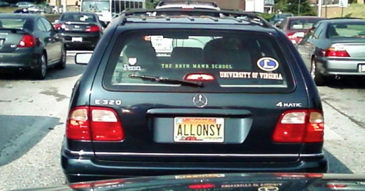 29 Clever License Plates That Slipped Past The DMV